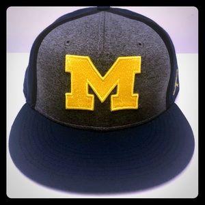 NWOT Michigan Wolverines NIKE JUMPMAN Hat One Size
